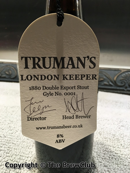 Truman's London Keeper @ The Brewclub