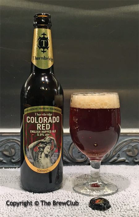 Thornbridge Colorado Red Ale at The Brewclub