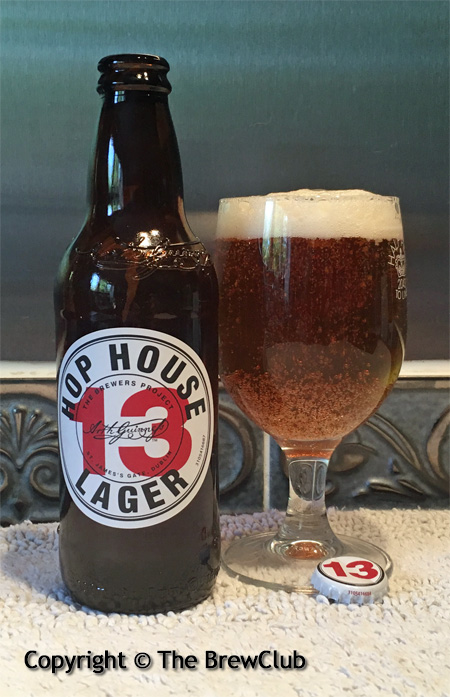 Guinness Hophouse13 Lager @ The Brewclub