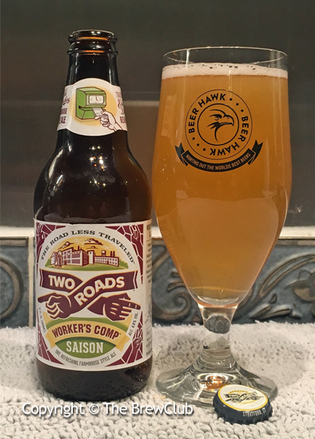 Two Roads Workers Comp Saison @ The Brewclub