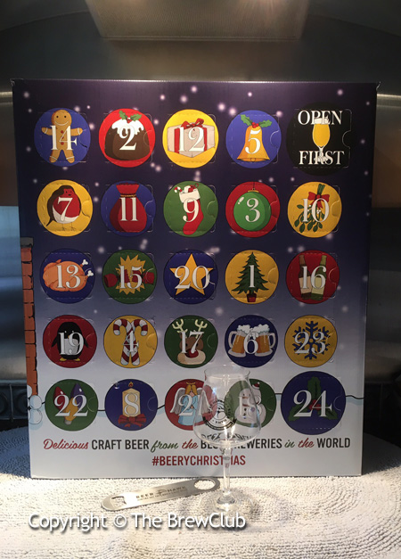 Beer Hawk Advent Calendar 2016 @ The Brewclub